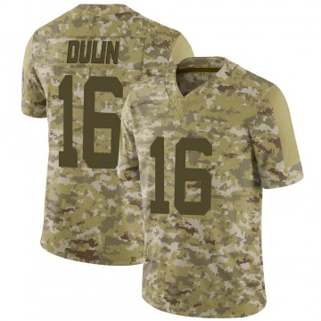 Men's Ashton Dulin Indianapolis Colts Limited Camo 2018 Salute to Service Jersey