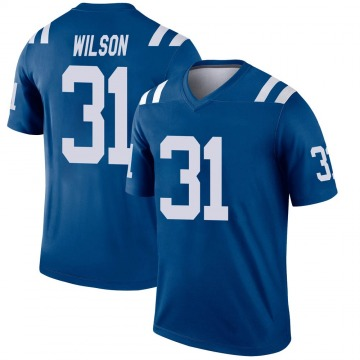 Men's Quincy Wilson Indianapolis Colts Legend Royal Jersey
