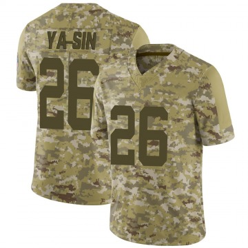 Men's Rock Ya-Sin Indianapolis Colts Limited Camo 2018 Salute to Service Jersey