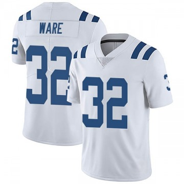 Men's Spencer Ware Indianapolis Colts Limited White Vapor Untouchable Jersey