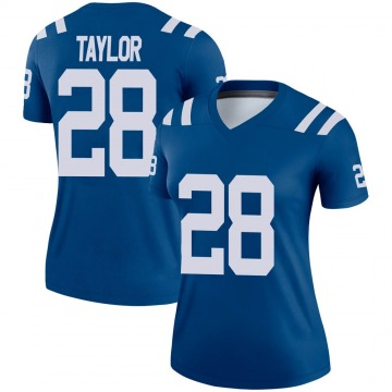 Women's Jonathan Taylor Indianapolis Colts Legend Royal Jersey