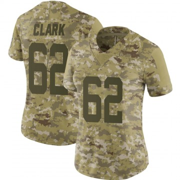 Women's Le'Raven Clark Indianapolis Colts Limited Camo 2018 Salute to Service Jersey