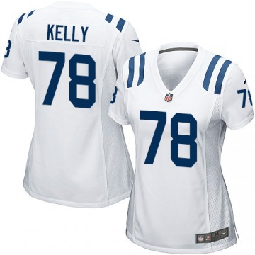 Women's Ryan Kelly Indianapolis Colts Game White Jersey