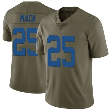 Youth Marlon Mack Indianapolis Colts Limited Green 2017 Salute to Service Jersey